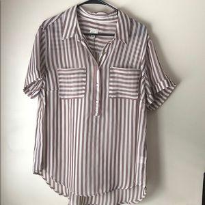 Sheet button up blouse